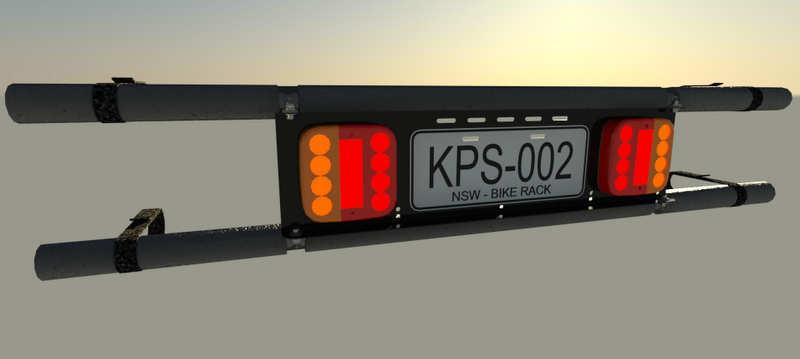 Rack Light · license plate & Racklight | rack light for bicycles - be seen